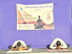 Yoga Day at Ahmedabad